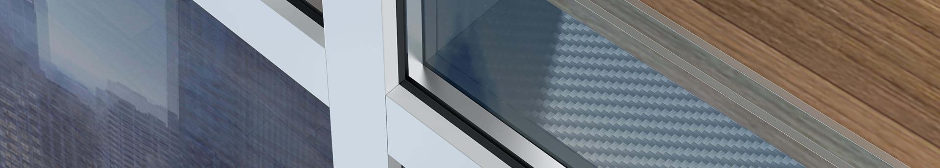Pereți cortină din profile din aluminiu