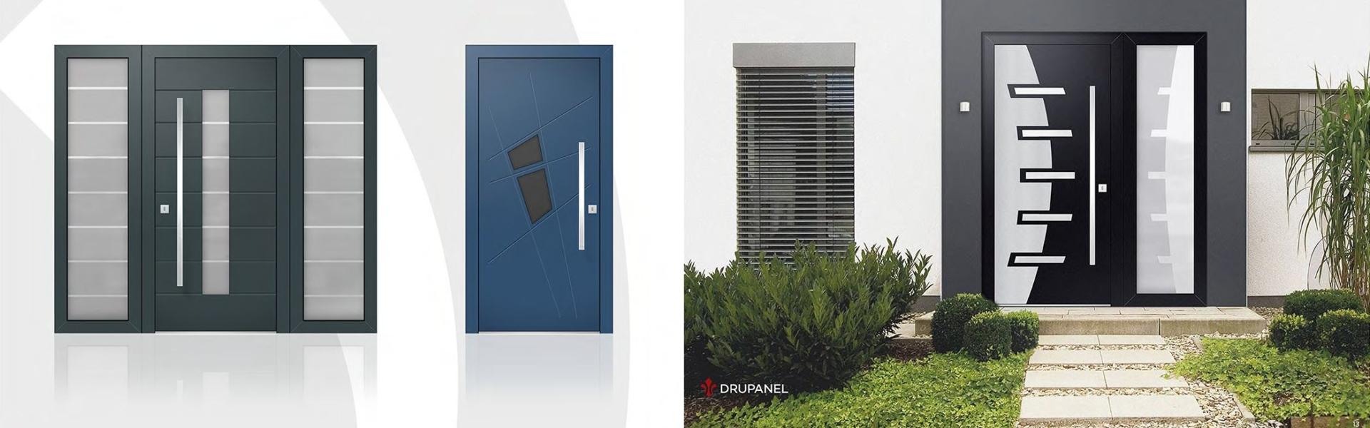 Uși pentru interior și exterior